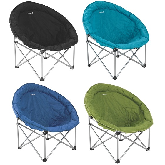 Outwell Comfort Camping Chair Xl Half Moon Foldable