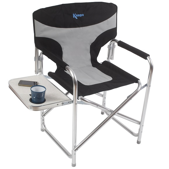 KAMPA THE GAFFER DIRECTORS CHAIR WITH SIDE TABLE FOLDABLE