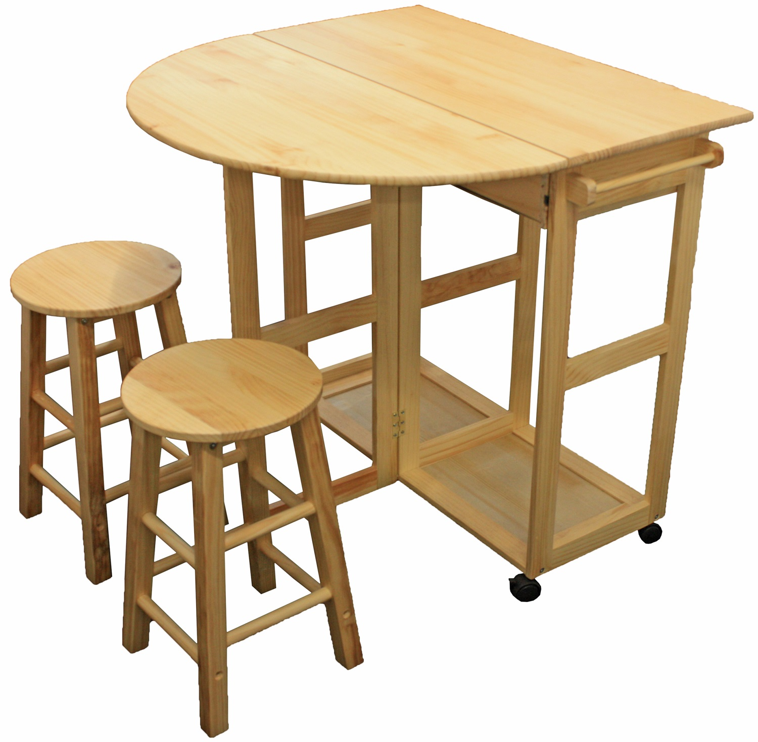 Maribelle Folding Table And Stool Set Kitchen Breakfast