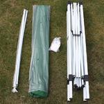 Andes 3m x 3m Folding Gazebo - WHITE Thumbnail 8