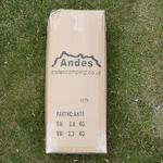 Andes 3m x 3m Folding Gazebo Side Wall Pack - WHITE Thumbnail 3