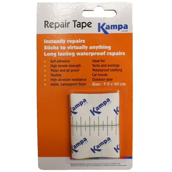 KAMPA AWNING AND TENT REPAIR TAPE SELF ADHESIVE WATERPROOF ...
