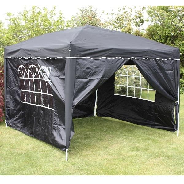 Gazebo Side Walls : M pop up gazebo and side walls garden party tent