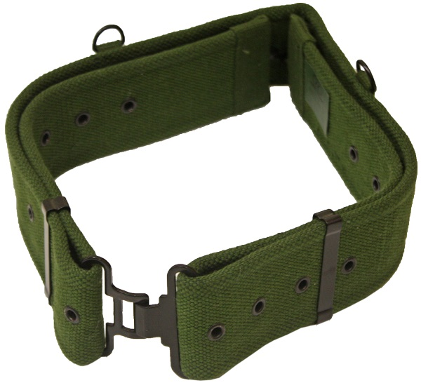 Olive green army military 58 pattern cadet webbing belt accessories new ebay for Does olive garden give military discount