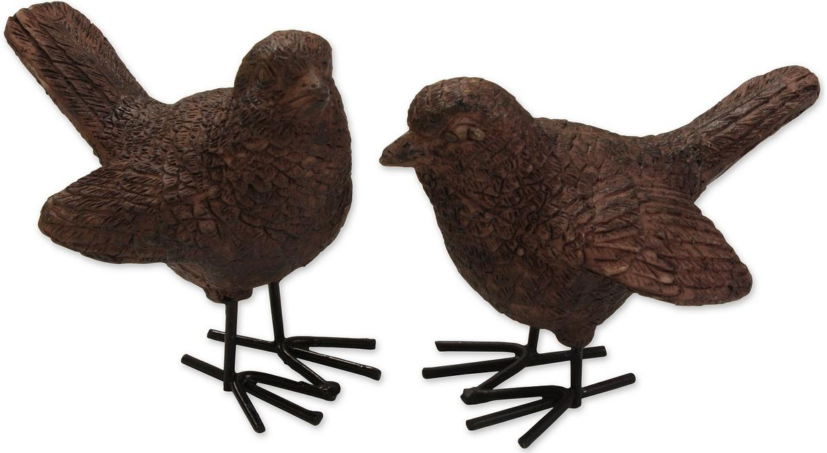 Woodside 2 Piece Resin Bird Set