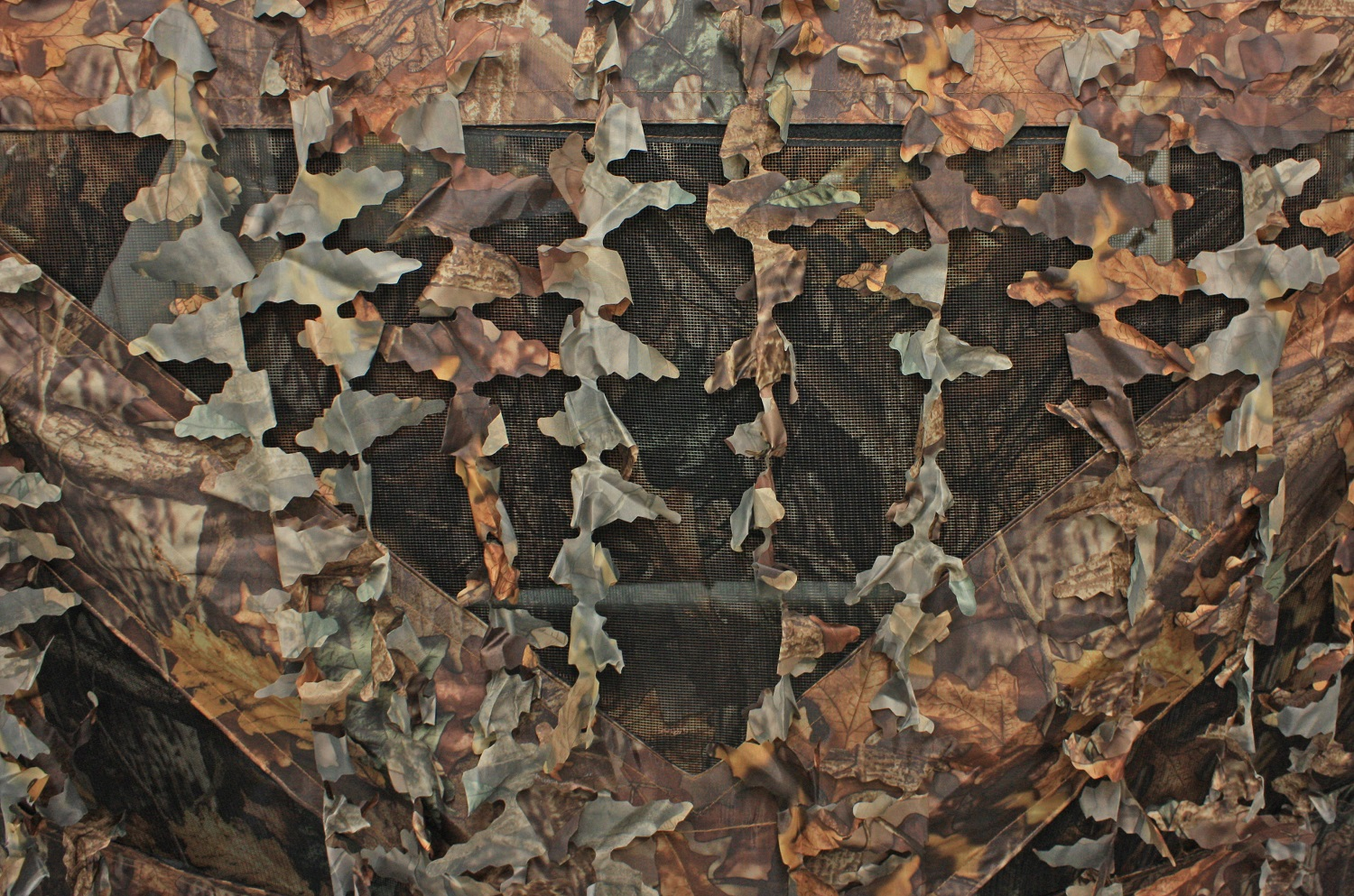 Pop Up Deluxe Leaf Camo Hunting Tent Photography Shooting