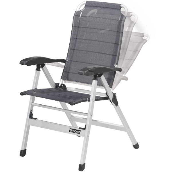 Outwell Ontario Portable Ergonomic Camping Chair Folding