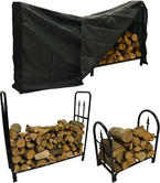 Hausen Decorative Firewood Rack