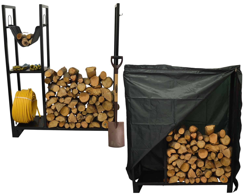 Hausen Outdoor Utility Wood Rack