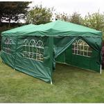 Andes 6m x 3m Gazebo With Side Wall Pack 1 Door Thumbnail 4