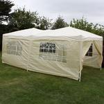 Andes 6m x 3m Gazebo With Side Wall Pack 1 Door Thumbnail 2