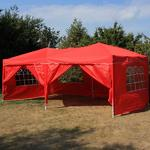 Andes 6m x 3m Gazebo With Side Wall Pack 2 Door Thumbnail 5