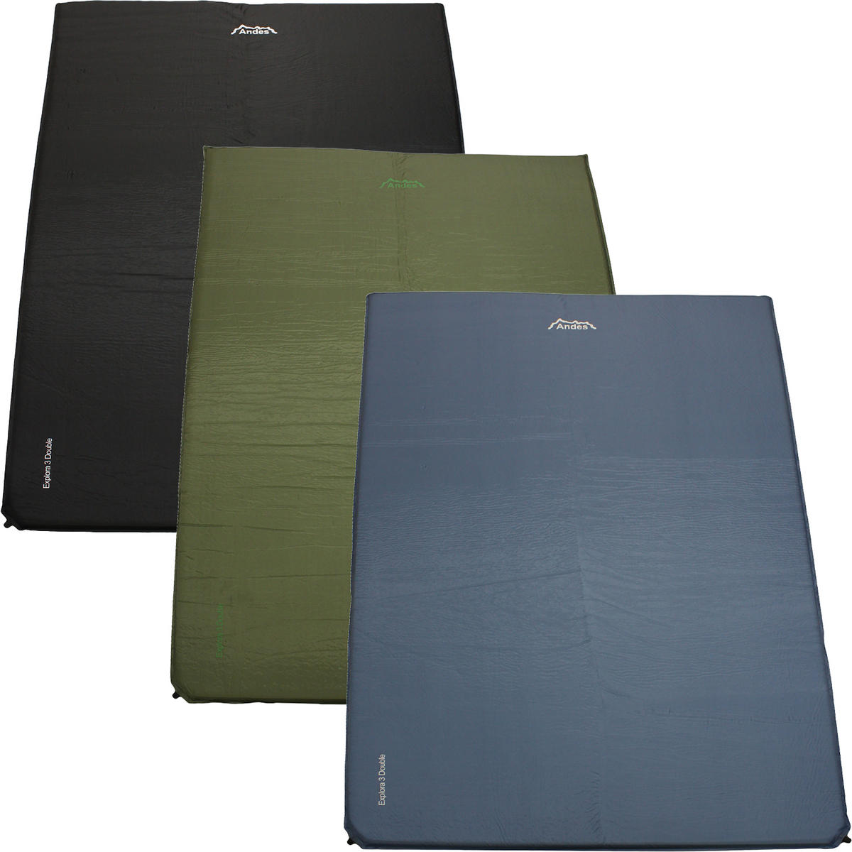 Andes Explora 3 Double Self Inflating Camping Mat