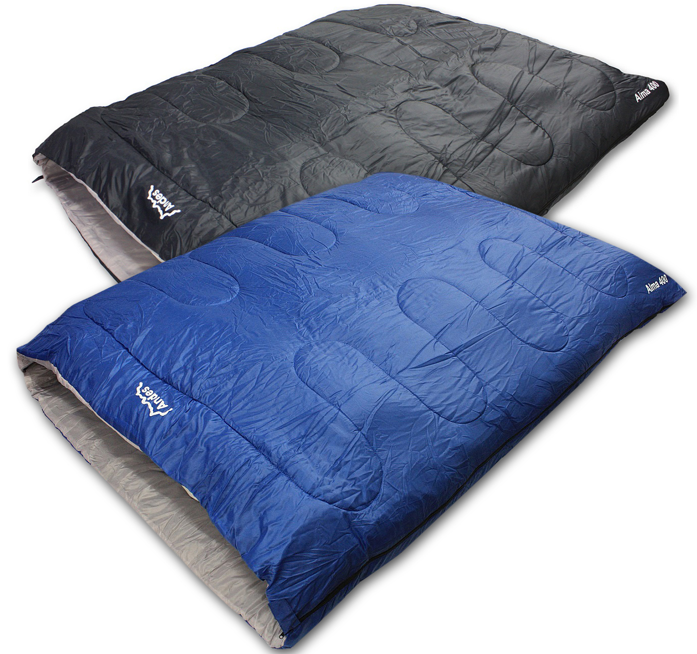 Andes Alma 400 3-4 Season Double Camping Hiking Rectangle ...