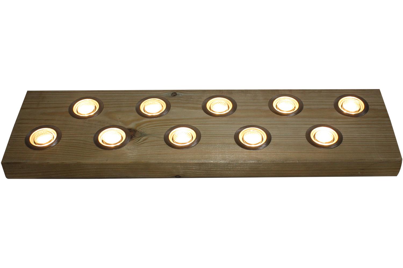 Woodside Set Of 10 40mm LED Decking Deck Plinth Lights Stainless Steel