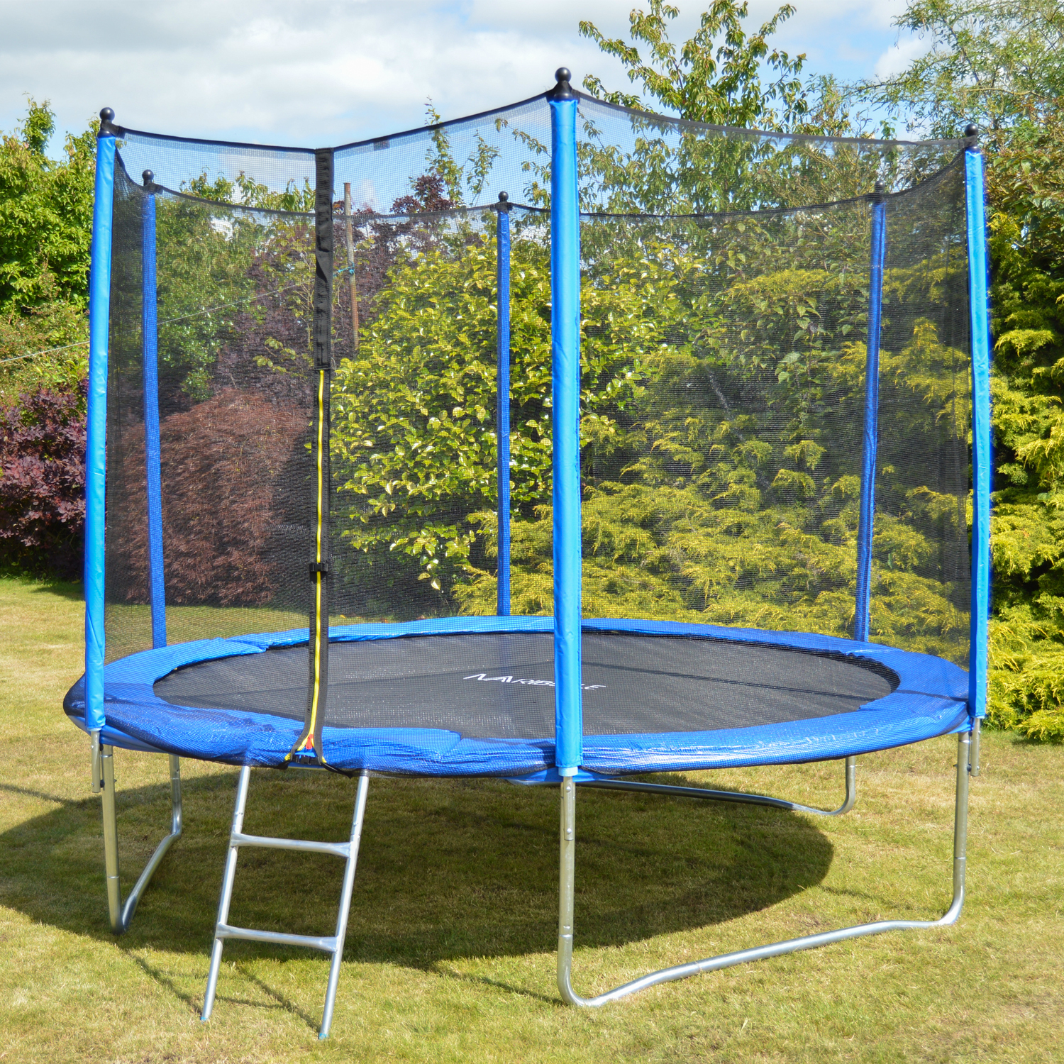 Maribelle Trampoline With Safety Net Enclosure Ladder And