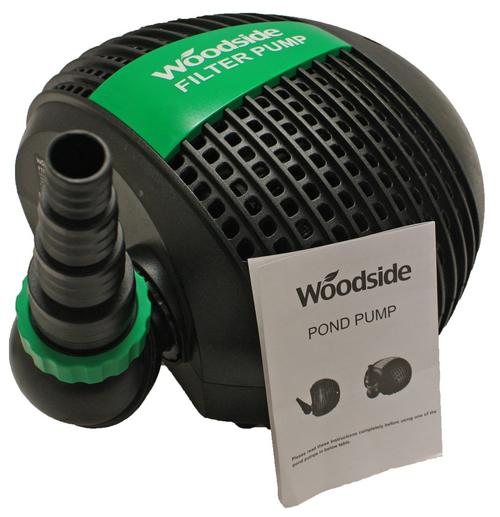 Woodside pond pumps 3200 17500lph pumps true north for Ornamental pond pumps