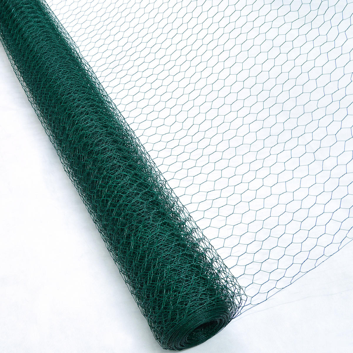 Woodside Pvc Coated Chicken Wire Fencing True North