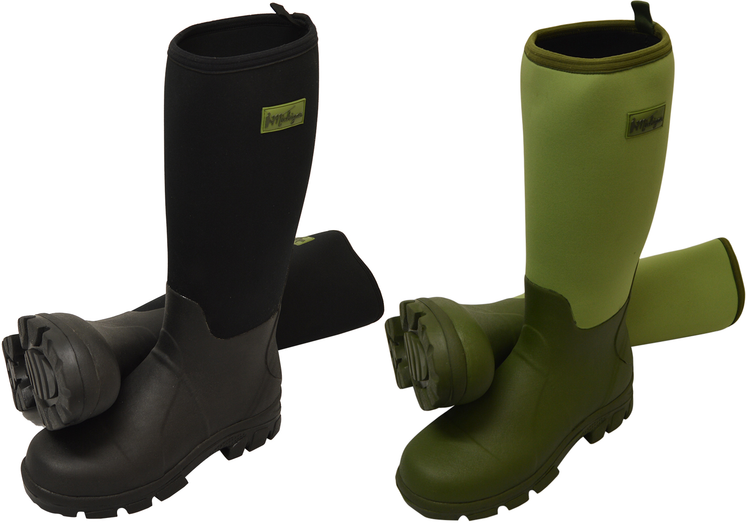 Michigan Neoprene Waterproof Wellington Muck Field Fishing Boots ...