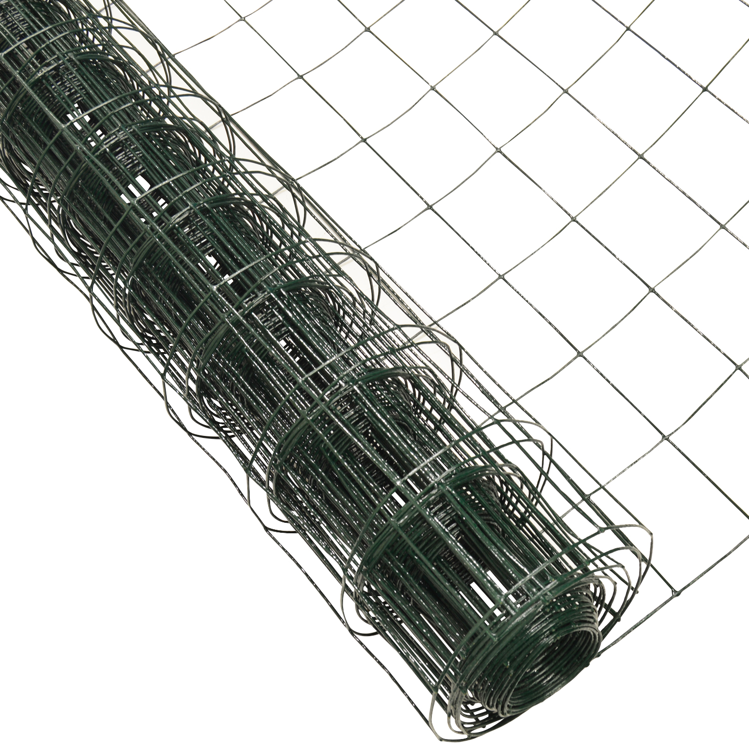 Woodside Green PVC Coated Wire Mesh Border Fencing Rabbit Chicken Fence EBay