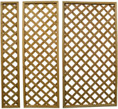 Woodside Lattice Pattern Garden Trellis