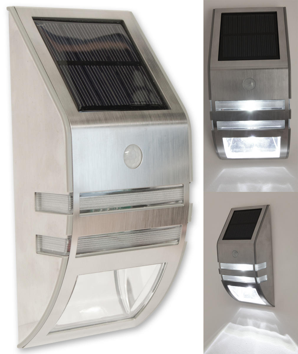 Woodside LED Solar Powered Motion Light