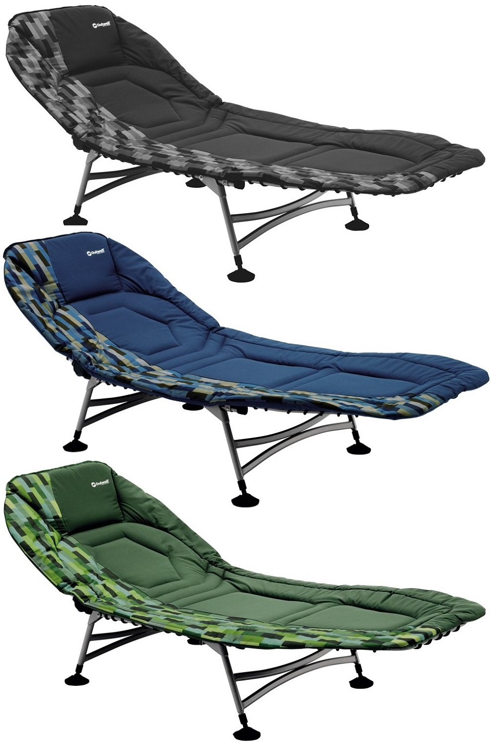 Outwell Cordoba Camping Cot/Bed Lounger Relaxer Folding