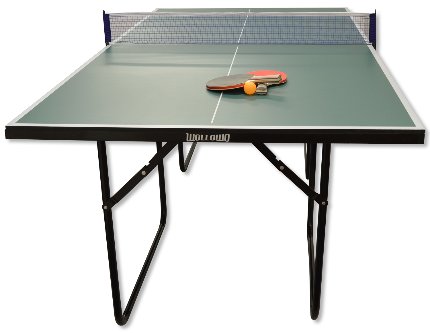 Green 3 4 Junior Sized Table Tennis Ping Pong Foldable