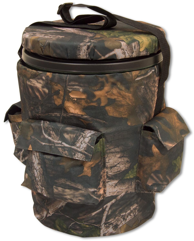Nitehawk spinning swivel hunting shooting camo bucket seat for Fishing bucket seat