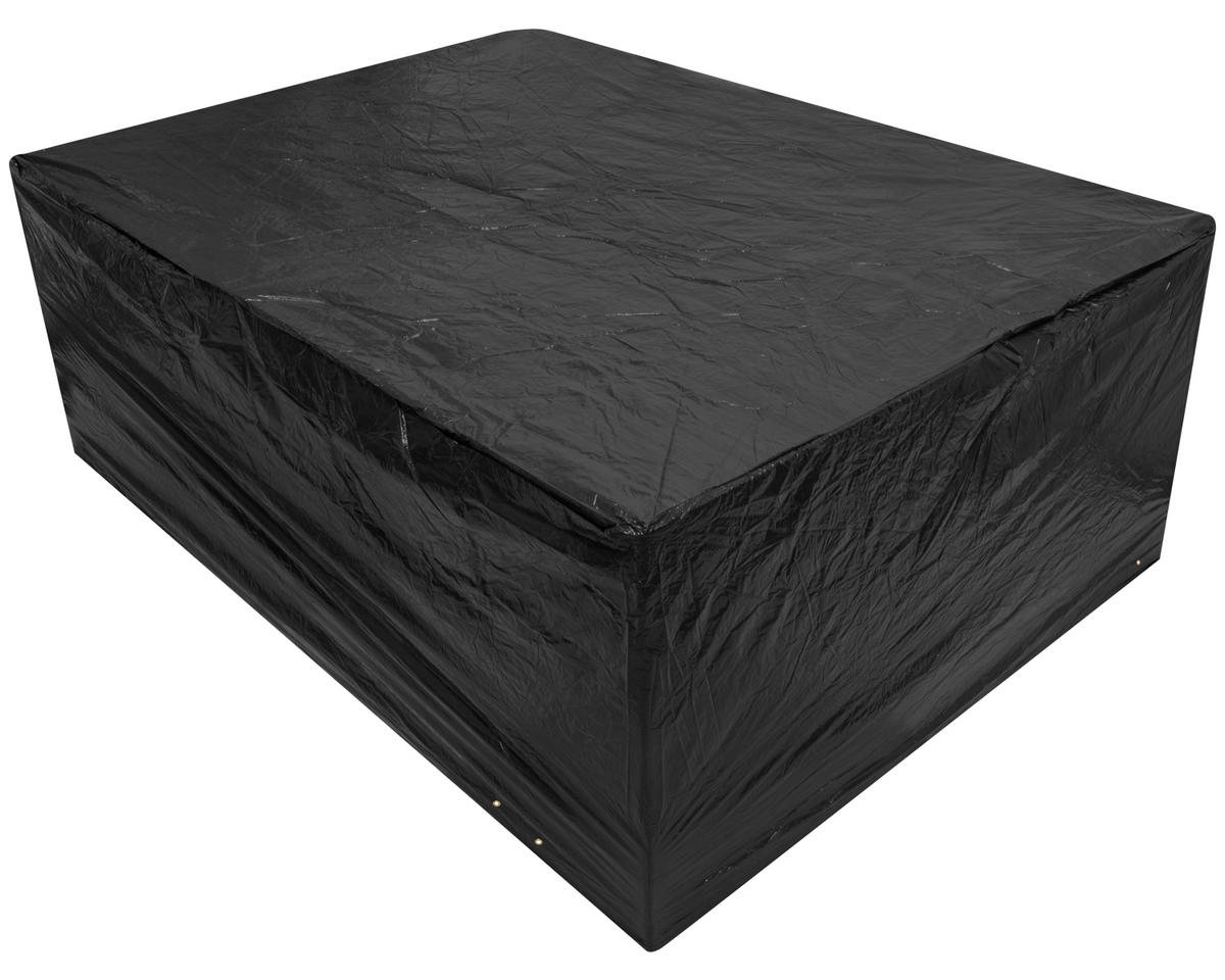 Woodside Large Oval Patio Set Cover Black Covers