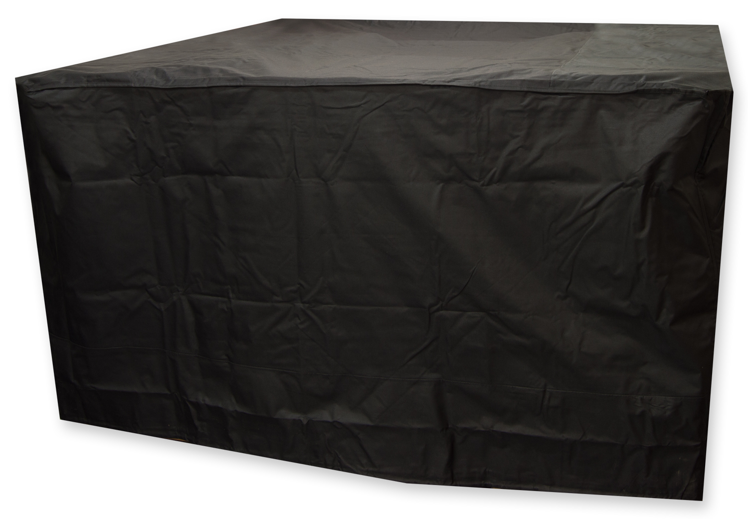 Oxbridge black medium oval waterproof outdoor garden patio for Outdoor furniture covers in black
