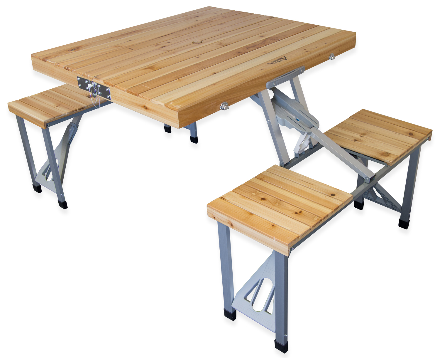 Wooden Folding Table ~ Andes folding wooden camping table outdoor value