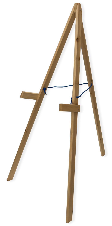 Wood Target Stand ~ Nitehawk wooden foldable a frame archery target tripod