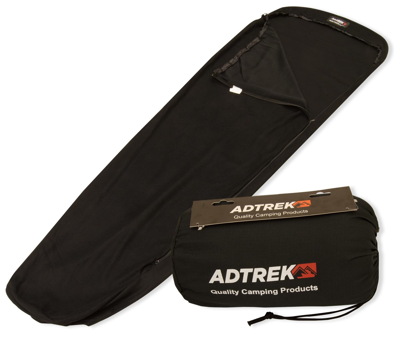 adtrek fleece mummy sleeping bag liner sleeping bags