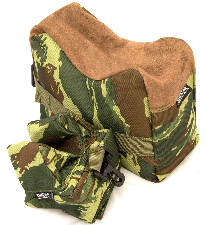Nitehawk Rifle Air Gun Front And Rear Rest Bench Bag