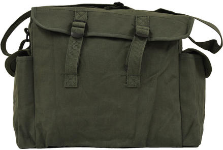 Highlander Heavy Duty Haversack OLIVE Preview
