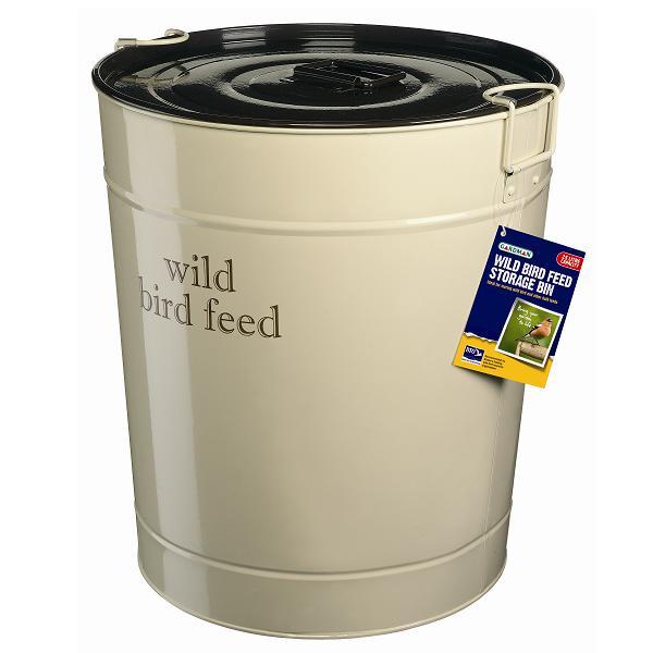 Gardman 25 Litre Large Wild Bird Feed Storage Bin New Ebay