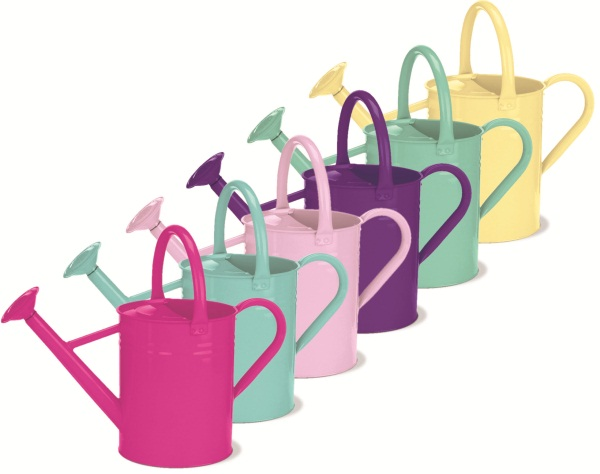 GARDMAN METAL WATERING CAN 1 GALLON/4.5 LITRES GARDEN