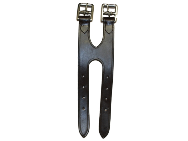 SHIRES-LEATHER-GIRTH-EXTENSION-STRAP-EQUESTRIAN-HORSE-RIDING-12-INCHES-NEW