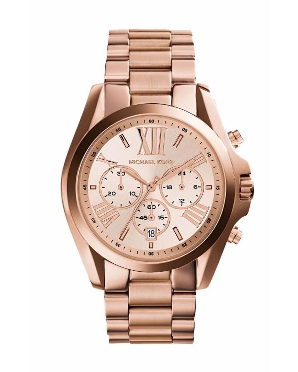 michael kors bradshaw gold tone chronograph