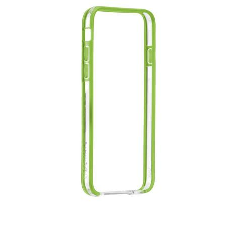 Case-Mate Tough Frame Ultra Slim Bumper Case for iPhone 6 6S 7 7S Clear/Lime NEW Thumbnail 4