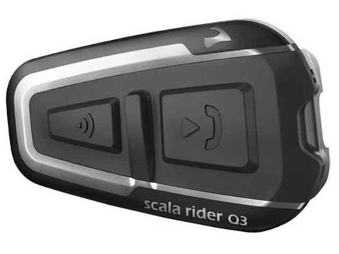 Cardo Scala Rider Q3 2014 Motorcycle Bluetooth Helmet Headset Intercom FM Radio Thumbnail 3