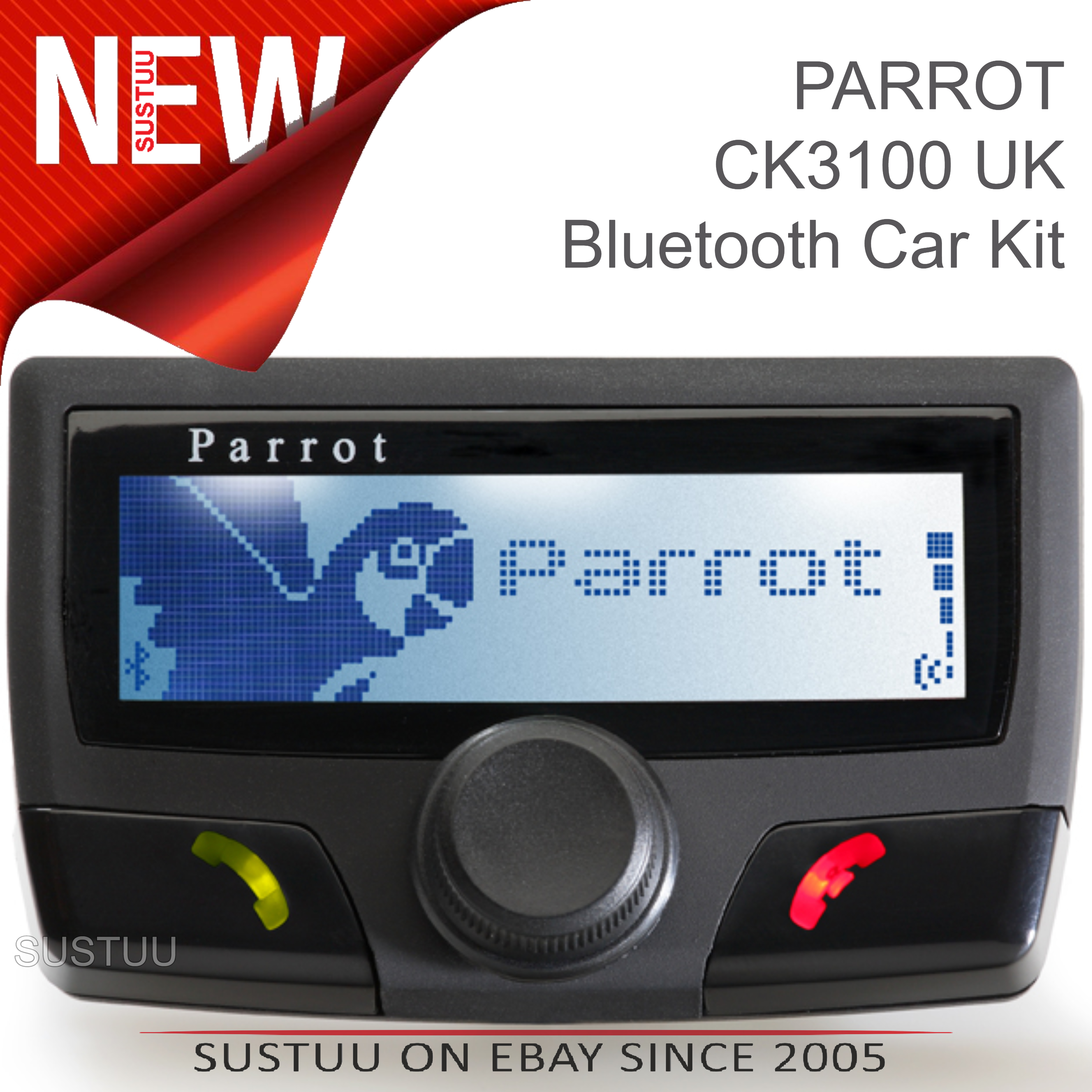 parrot k3100 uk free talk bluetooth car kit for mobile. Black Bedroom Furniture Sets. Home Design Ideas
