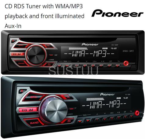 PIONEER DEH 150MP In Car Vehicle Radio CD Player Music Audio Headunit Stereo Thumbnail 1