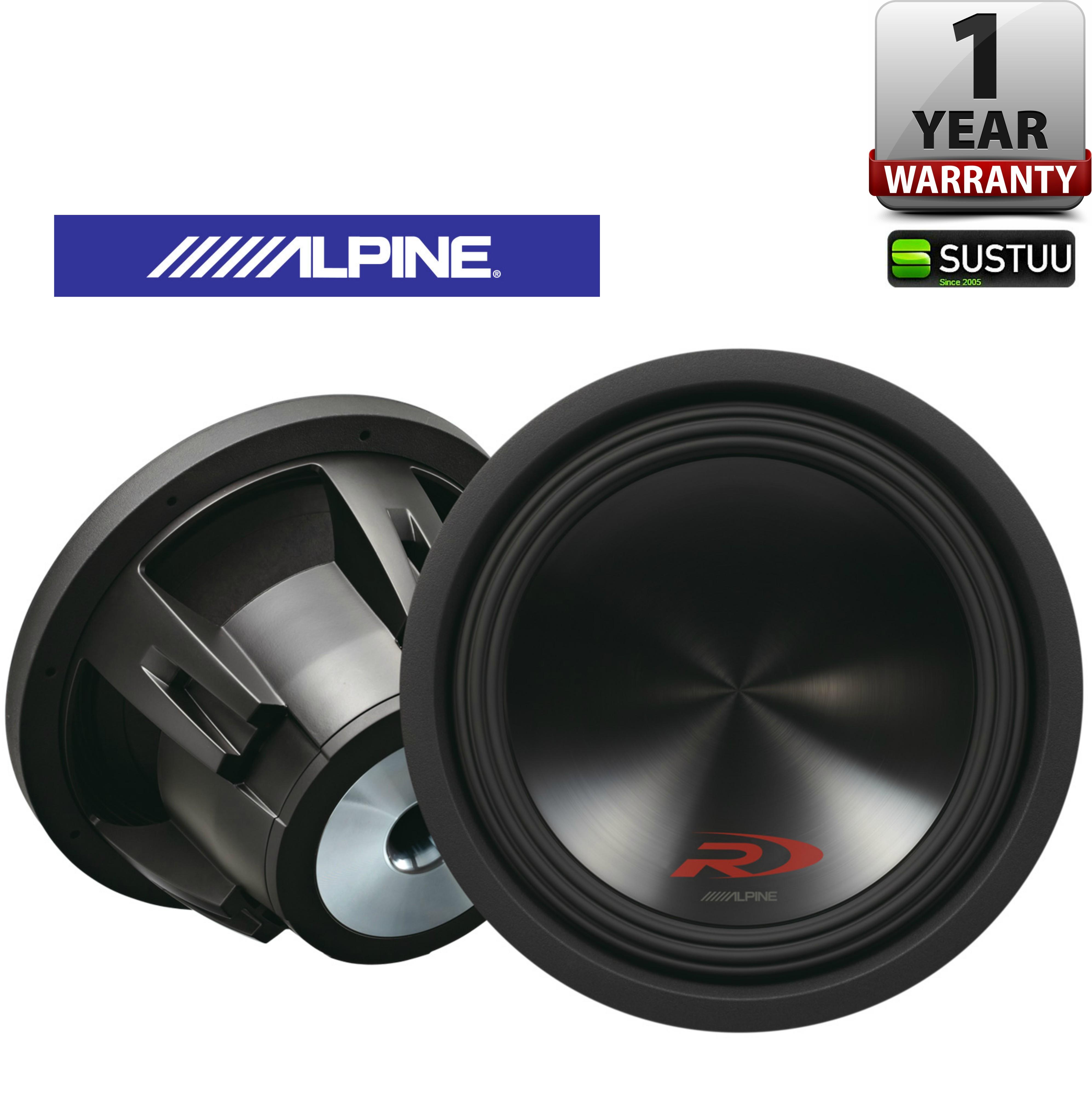 ALPINE SWR 12D4 In car Sound Vehicle Audio Speaker Subwoofer