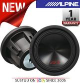 ALPINE SWR 10D4 In car Sound Vehicle Audio Speaker Subwoofer