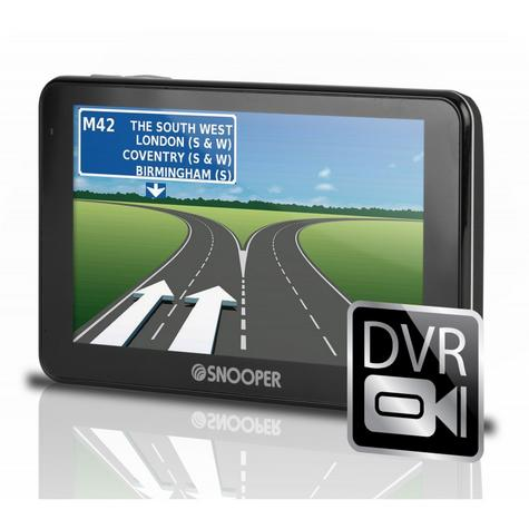 Snooper Truckmate Pro SC5800 EU -Truck GPS SatNav & HD Dash Cam Full Uk/ROI & EU Thumbnail 1