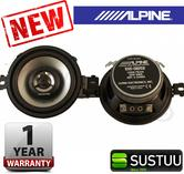"100%Warranty Alpine SXE 0825S 8cm 3.5"" Car Radio Stereo Audio Sound Speaker NEW"
