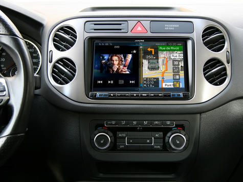"Alpine X801D U 8"" Navi GPS SatNav DAB HDMI USB Bluetooth Aux Fits iPod iPhone Thumbnail 3"