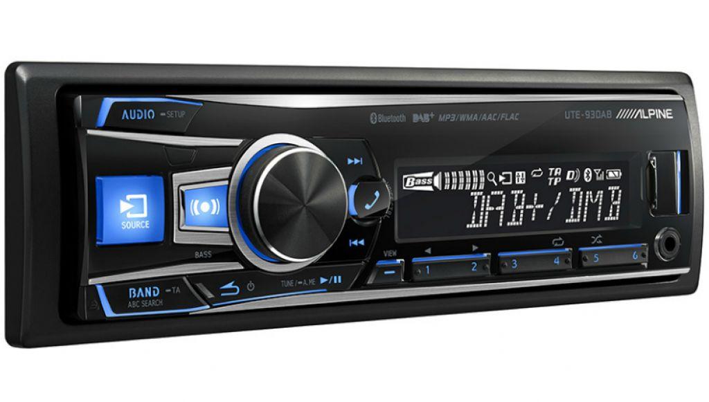 mp3 usb flac aux bluetooth alpine cde 193bt digital car. Black Bedroom Furniture Sets. Home Design Ideas